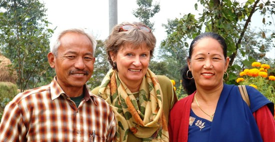 Volunteer Lydia in Bhairahawa angekommen